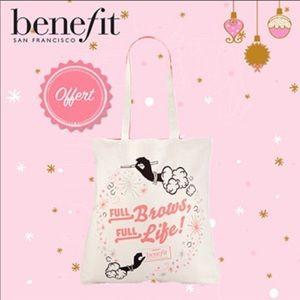 Benefit Cosmetics Full Brows Full Life Tote Bag